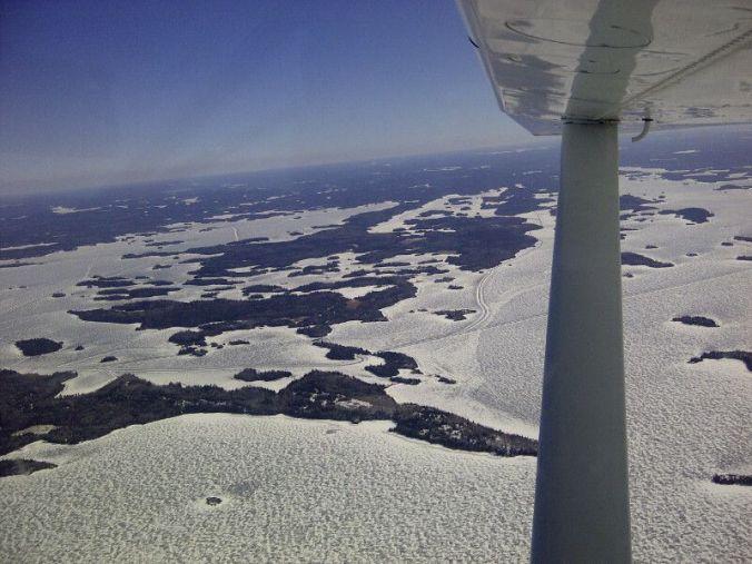 Scotty Island, Middle Island and Hay Island.